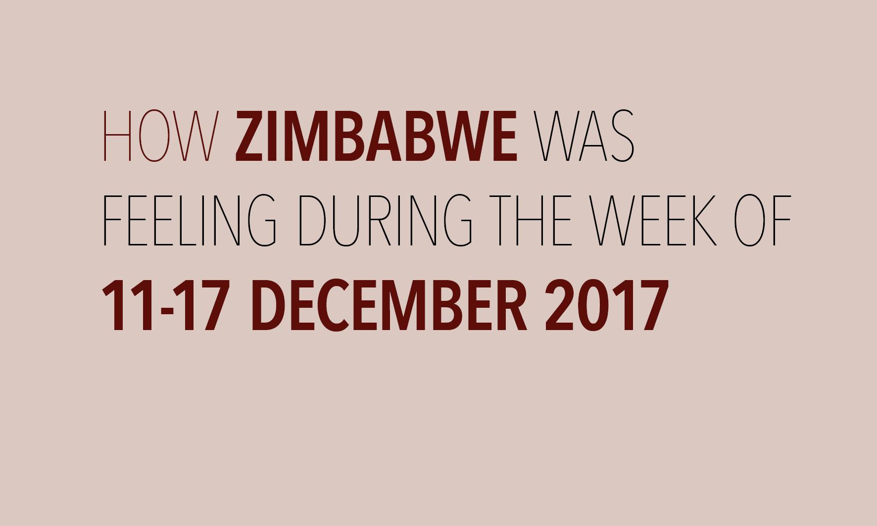Mood Week of 11-17 December 2017