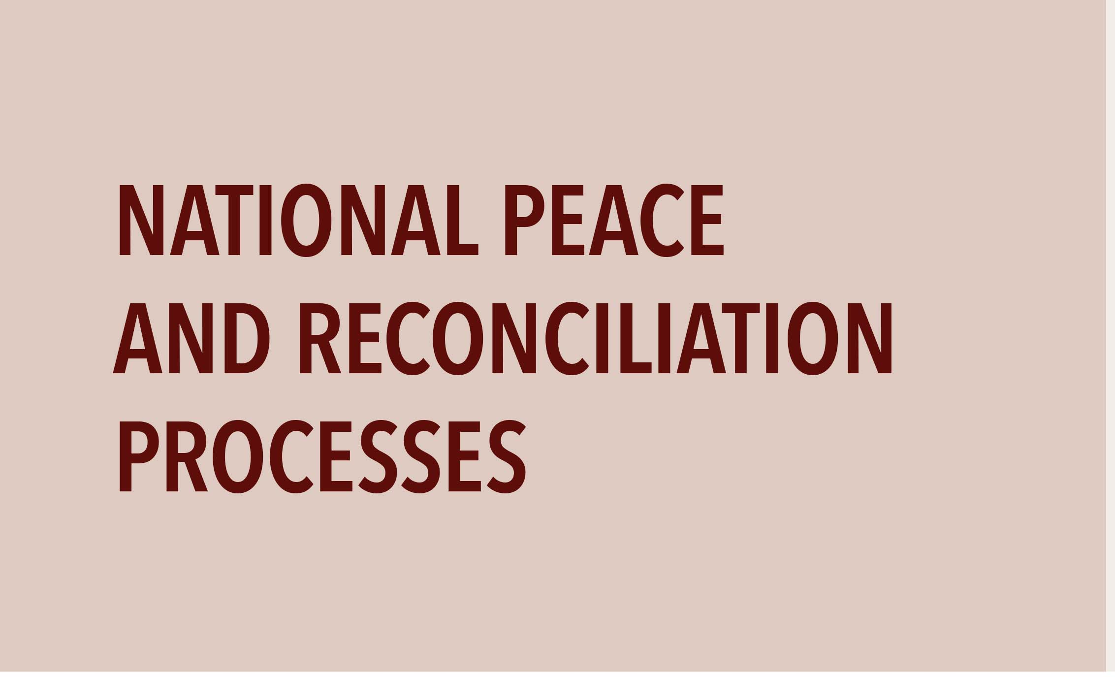 Zimbabwe Peace and Reconciliation