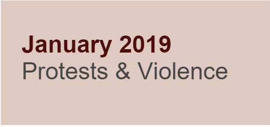 January 2019 Protests and Violence
